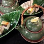松茸と海老寄団子の土瓶蒸し